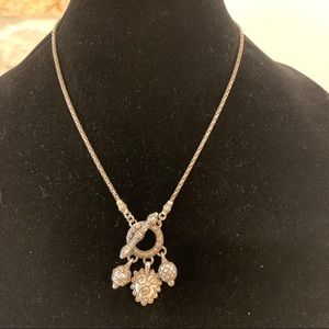 Jewelry - Rustic Silver Multi Pendant Necklace